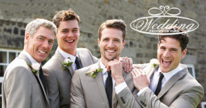 groomsman-ready-to-wed-pose-outdoor-post-chapel